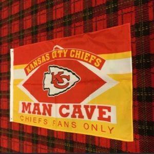Brand new Kansas City Chiefs banner flag